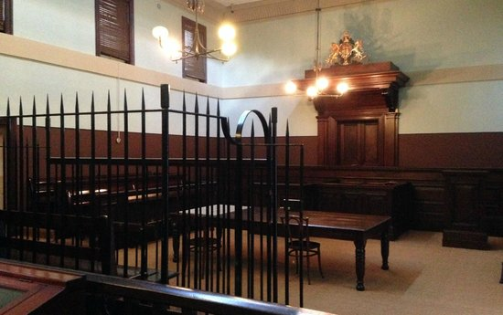 Justice & Police Museum: A Defendant's View