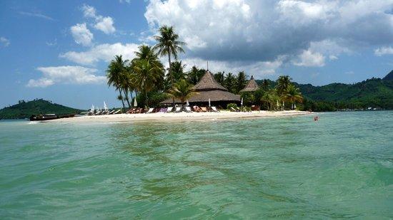 Koh Mook Sivalai Beach Resort : superschöne Lage des Hotels