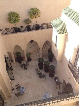 Villa Flore : Vue du patio