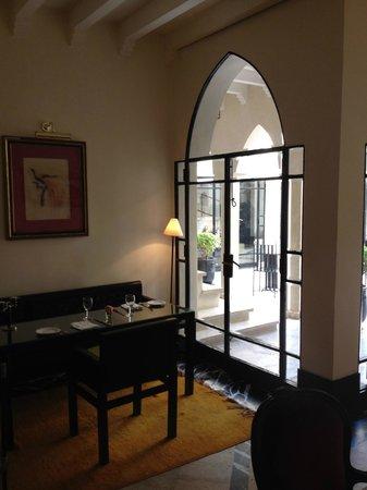 Villa Flore : intérieur restaurant