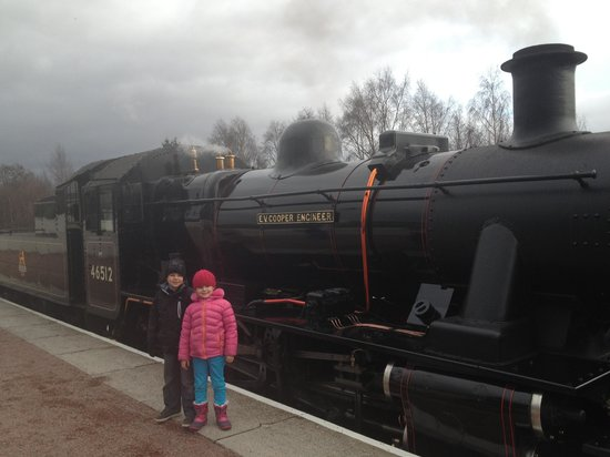 Strathspey Steam Railway: Lovely day out