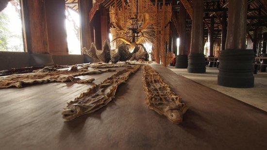Maison noire - Baan Si Dum - Museo Baandum : Creepy