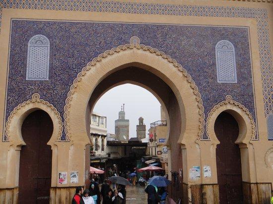 Bab Boujloud : Triple arch