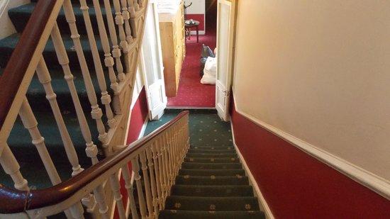 Adelphi Guesthouse: Escada/Stairs