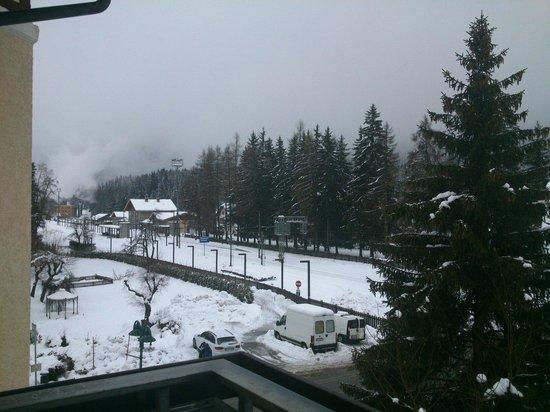 Hotel Villa Christina : Vista dal terrazzo della camera