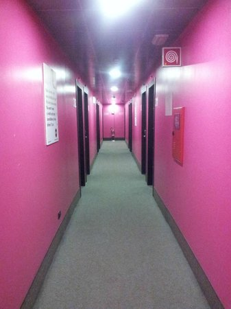 B&B Hotel Firenze City Center: couloir