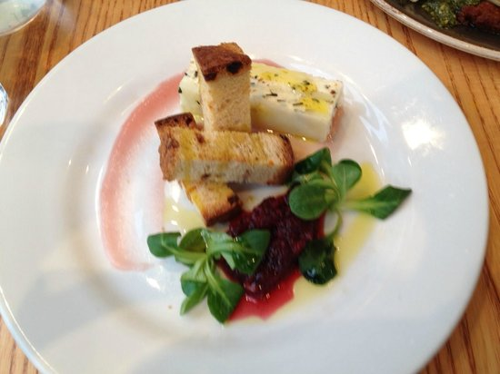 Food for Friends: Goats cheese