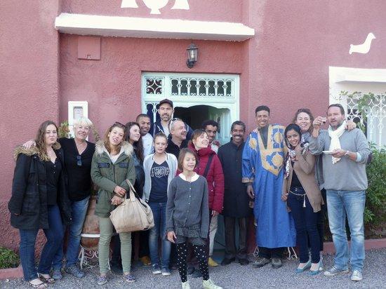 Maison d'hotes Dar Farhana: la famille