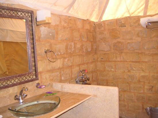 Golden Dune Camp : OUR BATHROOM