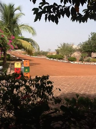 African Dream Hotel: grounds of the hotel