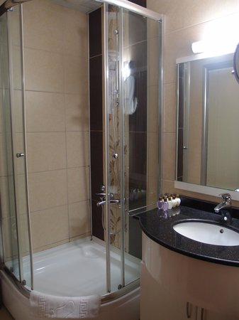 Rast Hotel: バスルーム