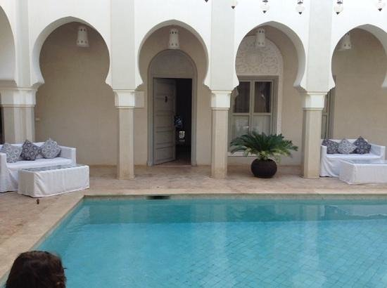 Riad Nashira & Spa : vista camera