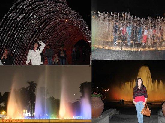 Discovering Peru: Parque De La Reserva. Lima