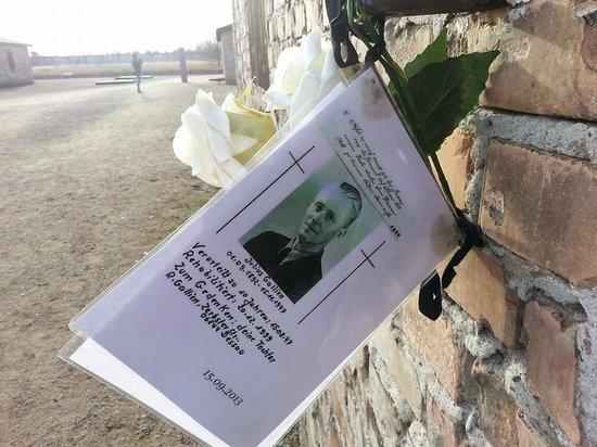 """Mosaic Non-Profit Sachsenhausen Memorial Tours: In memoria di uno dei detenuti """"privilegiati"""""""