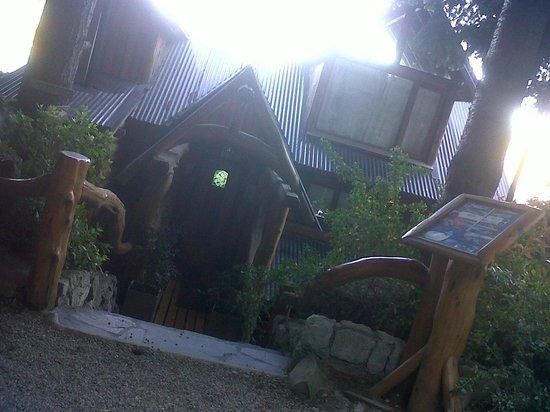 Cabanas Puerto Pireo: La recepción