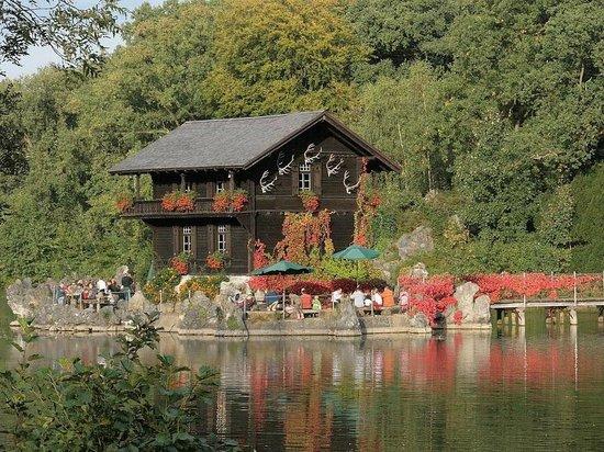 Biotop Wildpark Anholter Schweiz