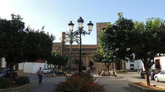 Castillo de Niebla: Piazza S. Maria