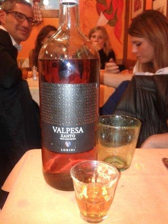 Osteria I Brincello: bottiglietta di VinSanto da 1.5L