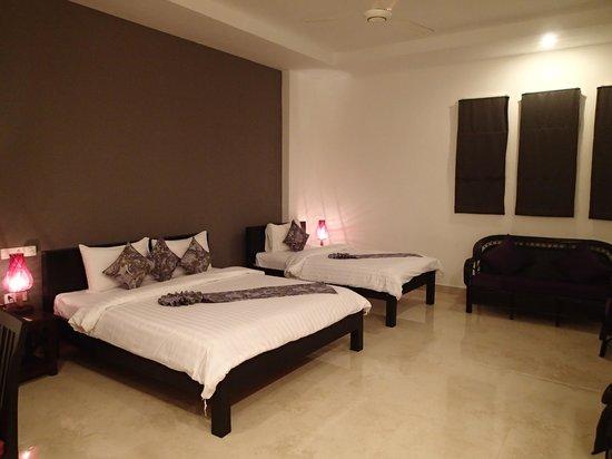 Central Boutique Angkor Hotel : 部屋の中