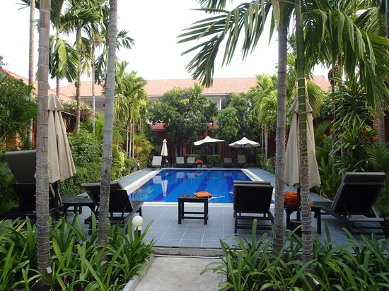 Central Boutique Angkor Hotel : プール