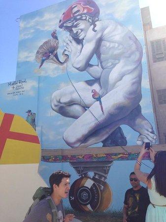 BA Street Art Tours: Mural by Martin Ron