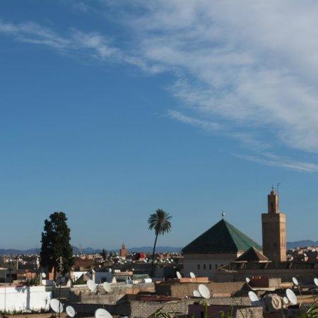 Riad 144 Marrakech : AU PETIT DEJEUNER