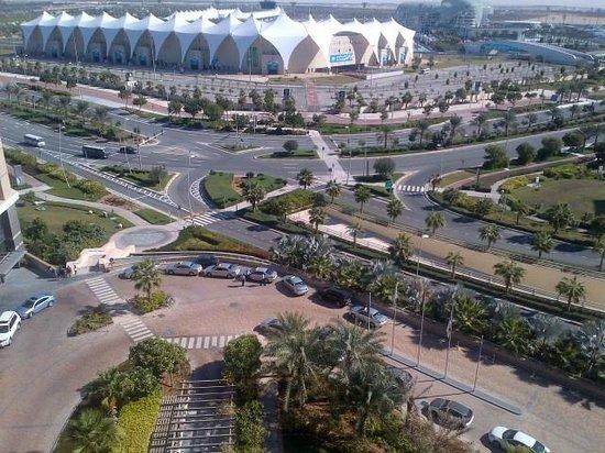 Radisson Blu Hotel, Abu Dhabi Yas Island: View from room
