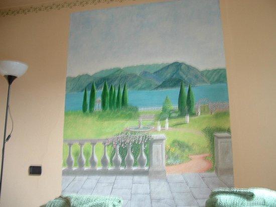 B&B La Ca' di Sala: vista dal letto della camera LAMPONE