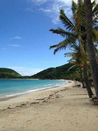 Peter Island Resort and Spa : Deadman's Cove Beach