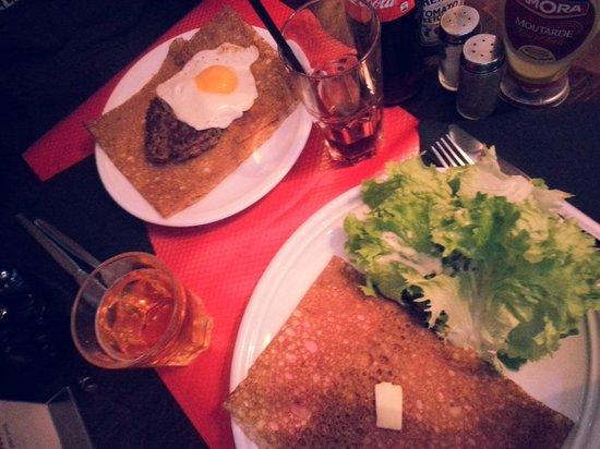 Creperie Beaubourg : ottimo pranzo