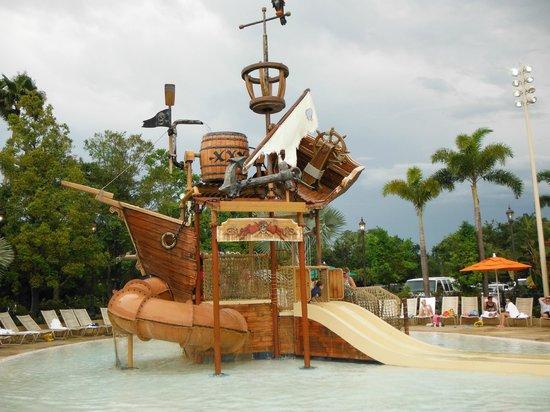 19e3fdfc91507 Lil kids play area - Picture of Disney s Caribbean Beach Resort ...