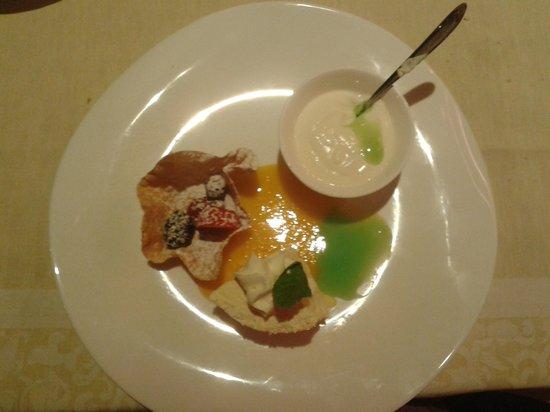 Hotel Sonnalm: cuisine 2