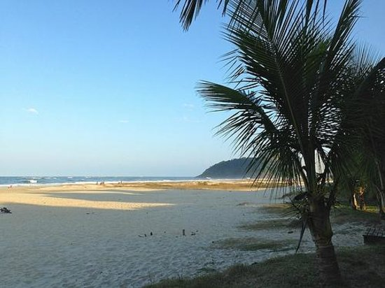 Caioba: perfect views of the beach from the boardwalk
