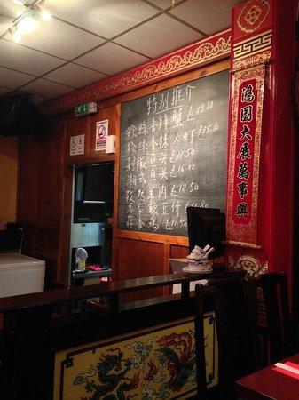 Loon Fung Restaurant: Loon Fung Specials board