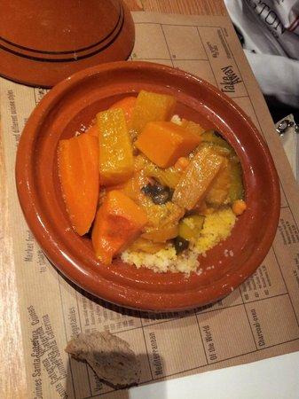 Cuines Santa Caterina : Cuscus de verduras
