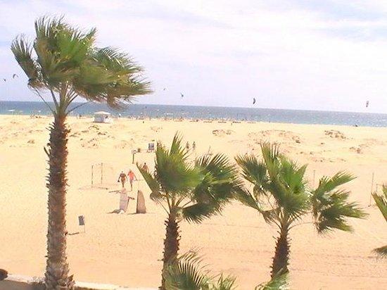Crioula Club Hotel & Resort: Panoramica delle spiaggia
