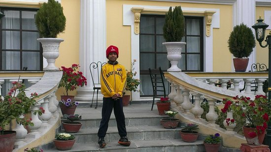 Kathmandu Guest House: Lovely surroundings.