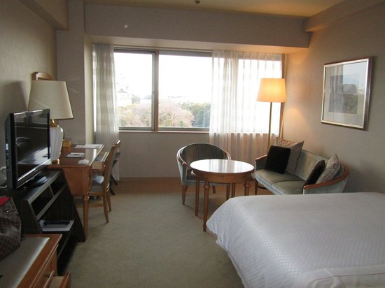 Hotel Nagoya Castle: スタンダードダブル(城)