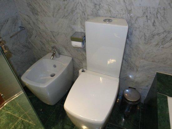 Hotel Gran Derby Suites : Baño