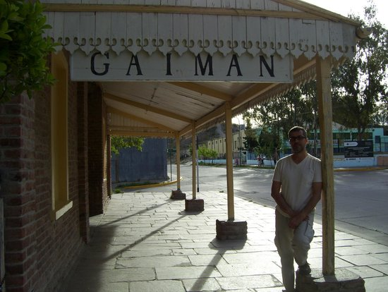 Gaimán, Argentina: Ingreso al Museo