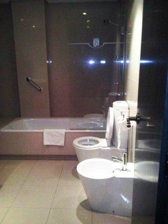 Hotel Rice Palacio de los Blasones: WC y bañera