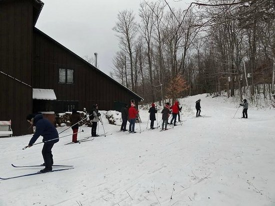 North River, NY: Ski Race at the Skishop