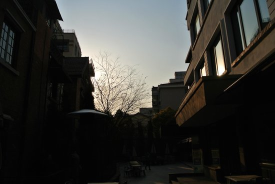Former French Concession: sunset
