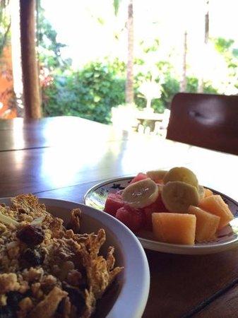 Hotel Lunata: breakfast view