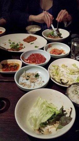 Kimchi Princess: Dazugehöriges Gemüse+Saucen