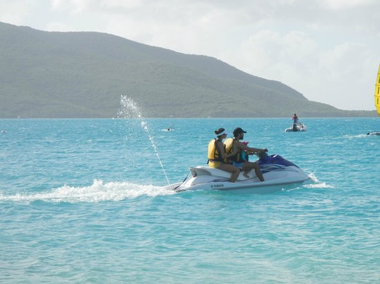 Blue Rush Water Sports And Jet Ski Rentals Inc. : Office fun day - Jet Ski