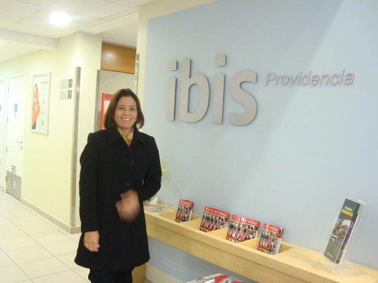 Ibis Santiago Providencia : Boa recepção