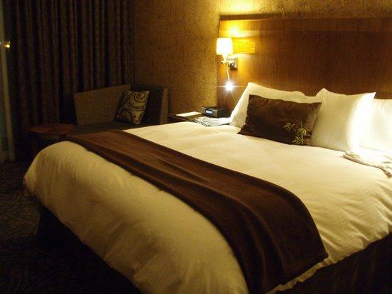 Miyako Hybrid Hotel: yatak odası