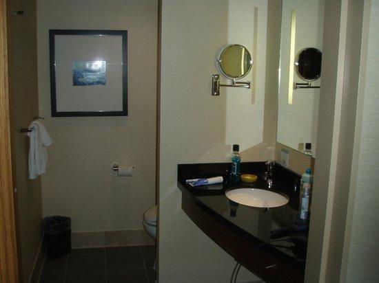 Miyako Hybrid Hotel: banyo