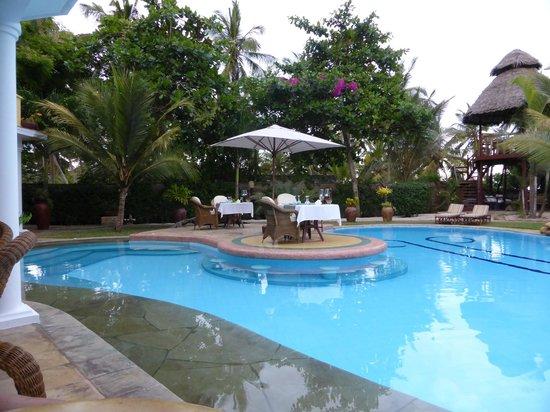AfroChic Diani: Hotel Pool